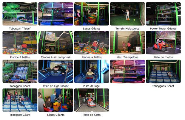 La plaine de jeux C L'aventure propose des activités pour tous les âges