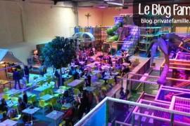 C L'aventure, méga plaine de jeux indoor pour enfants