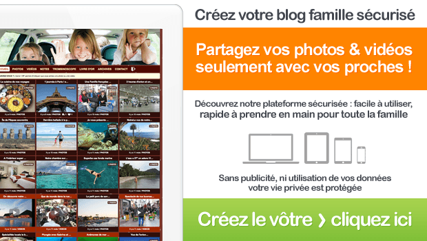 Créez votre blog famille sécurisé en 2 min