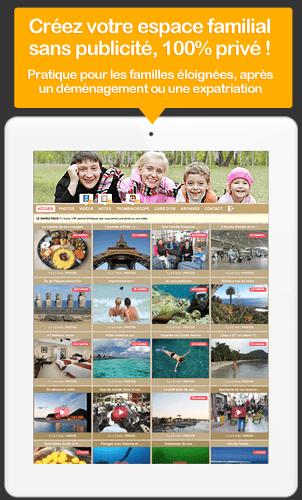 Votre blog famille privé pour partager photos et vidéos en ligne avec vos proches