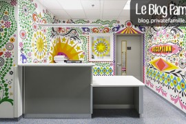 L'hôpital pour enfants décoré par 15 artistes