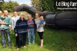 Un toboggan géant dans ton jardin