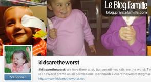 L'Instagram pour démontrer que les enfants sont des monstres