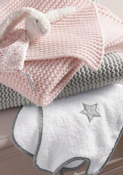 Le lingerie de maison, de lit et de table peuvent être réutilisé facilement pour votre deuxième enfant