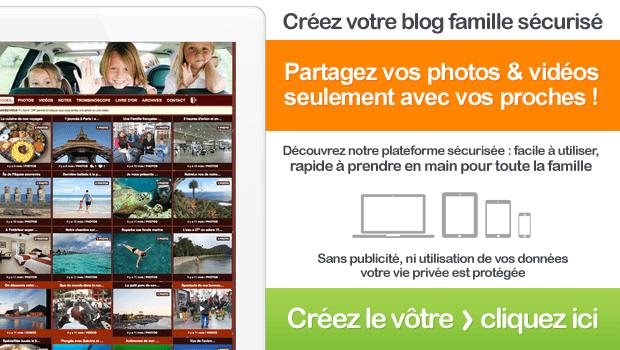 Site sécurisé pour partager des photos de famille